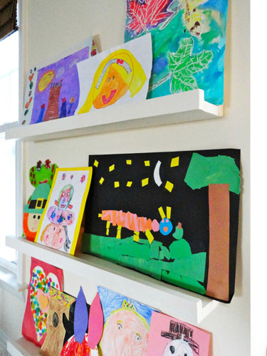How to Display Yours Children's Masterpieces