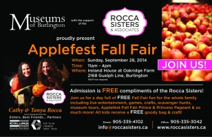 Applefest 2014 FREEAdmissioncomplimentTHEROCCASISTERS