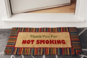 photolibrary_rf_photo_of_no_smoking_doormat