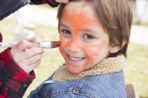 64168 BurlEdit 64198 Burlington, March 20, 2016 Samuel Ibanez-Padron getting his face painted at the Ireland House Museum's Sp'egg'tacular Easter event. Photo by Ashley Ciona, special to Metroland Media